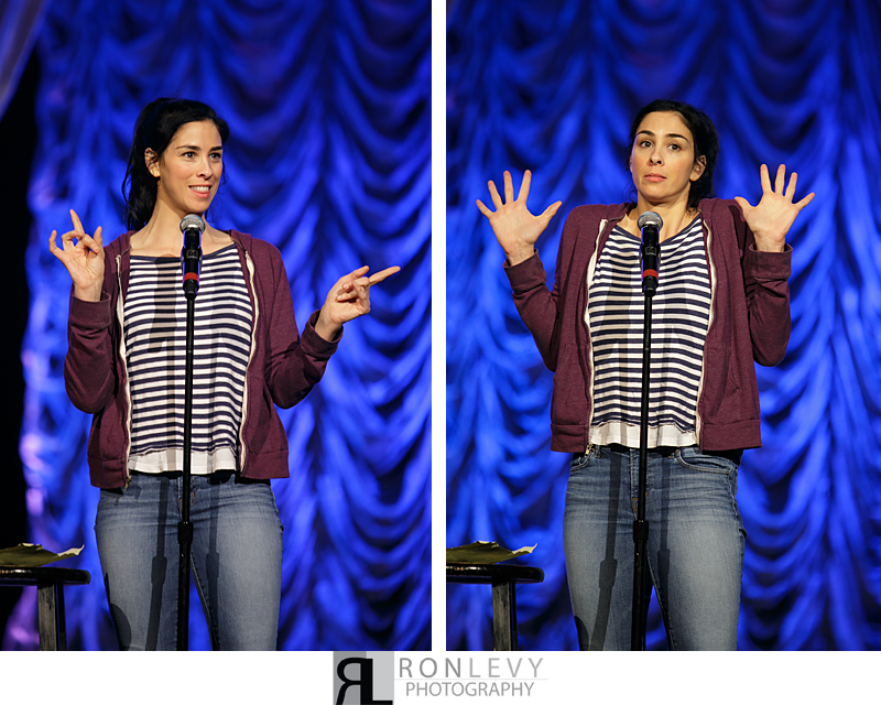 Sarah Silverman 009 Late Night with Solomon Society 2013 – Sarah Silverman