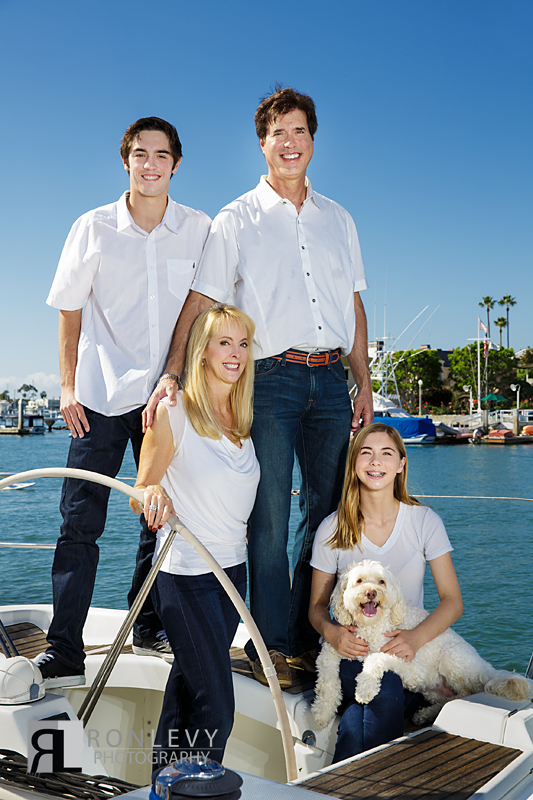 Newport Beach Family Portraits Boat 003 Newport Beach Family Portraits on a Boat