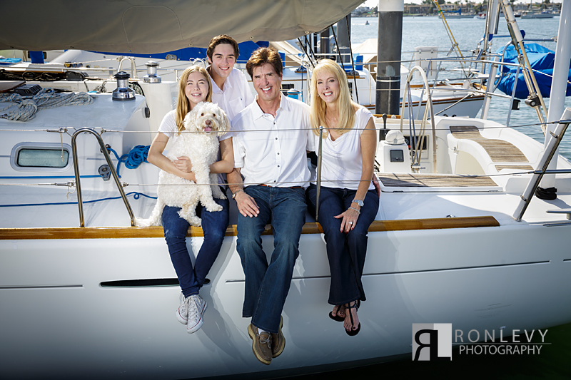 Newport Beach Family Portraits Boat 004 Newport Beach Family Portraits on a Boat